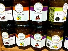 Picture showing a variety of homemade jams