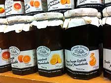 Further image of marmalade jars