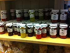 Picture of homemade chutneys