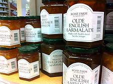 Picture of jars of homemade marmalade