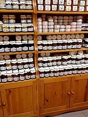 Photo of homemade jams